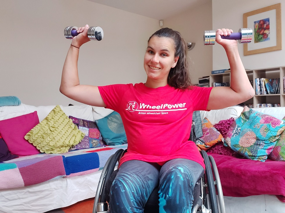 Dedicated website for wheelchair workouts warrior